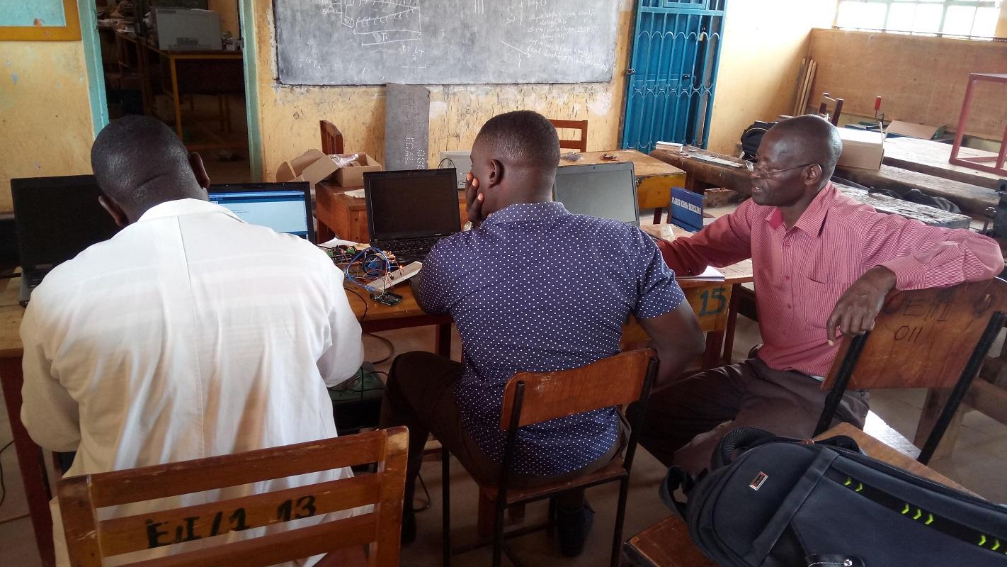 TME Education training at St. Joseph's Technical Institute, Kisubi