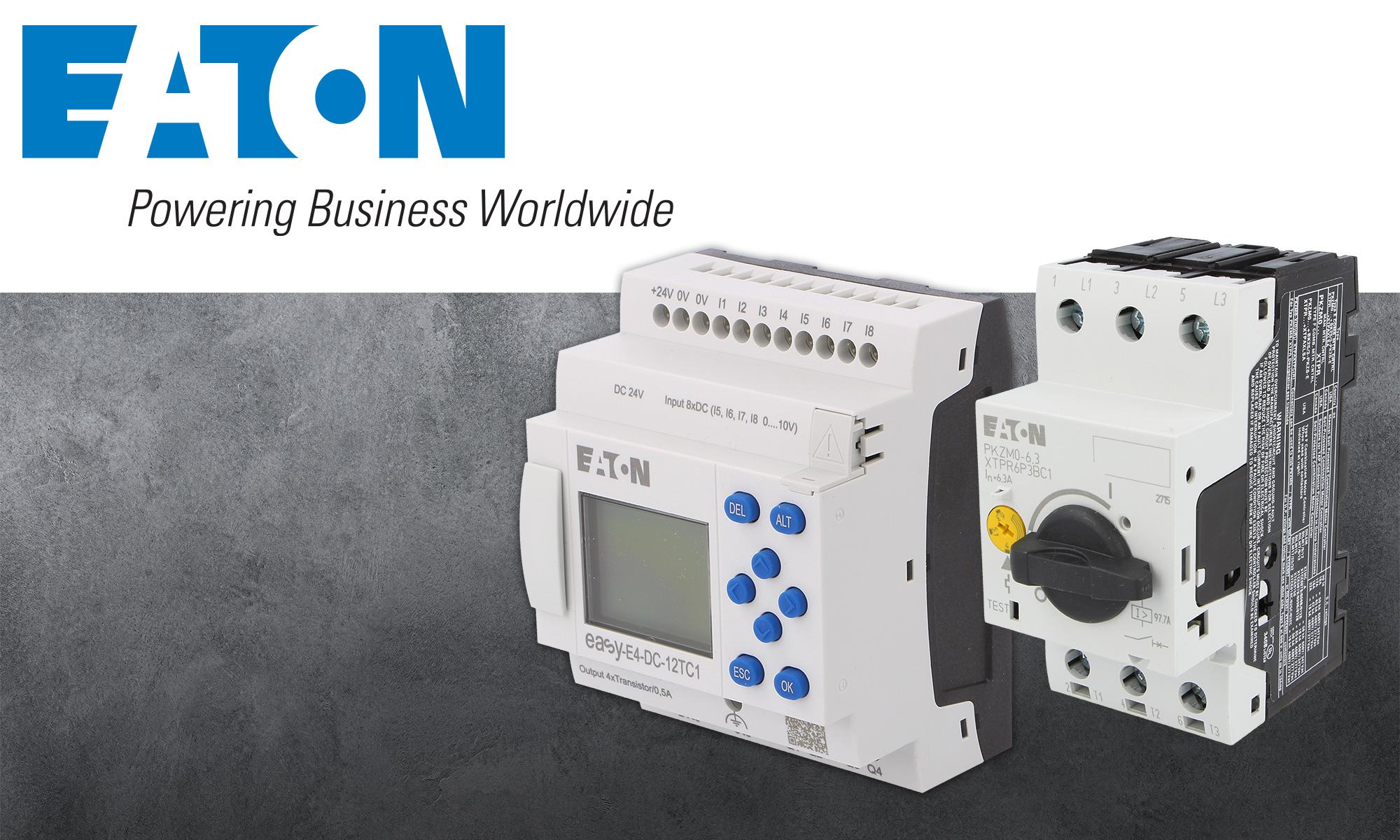 Umfassende Lösungen für Automatisierung von Eaton Electric