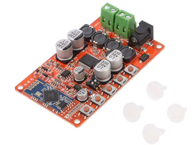 OKYSTAR 2x25W power amplifier module with Bluetooth