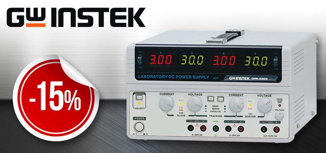 现在TME中精选GW Instek电源大优惠!