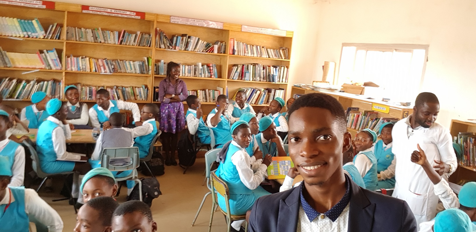 Report: TME Education Training at Bitame Lucia International School during the Youth Week in Cameroon, February 2019.