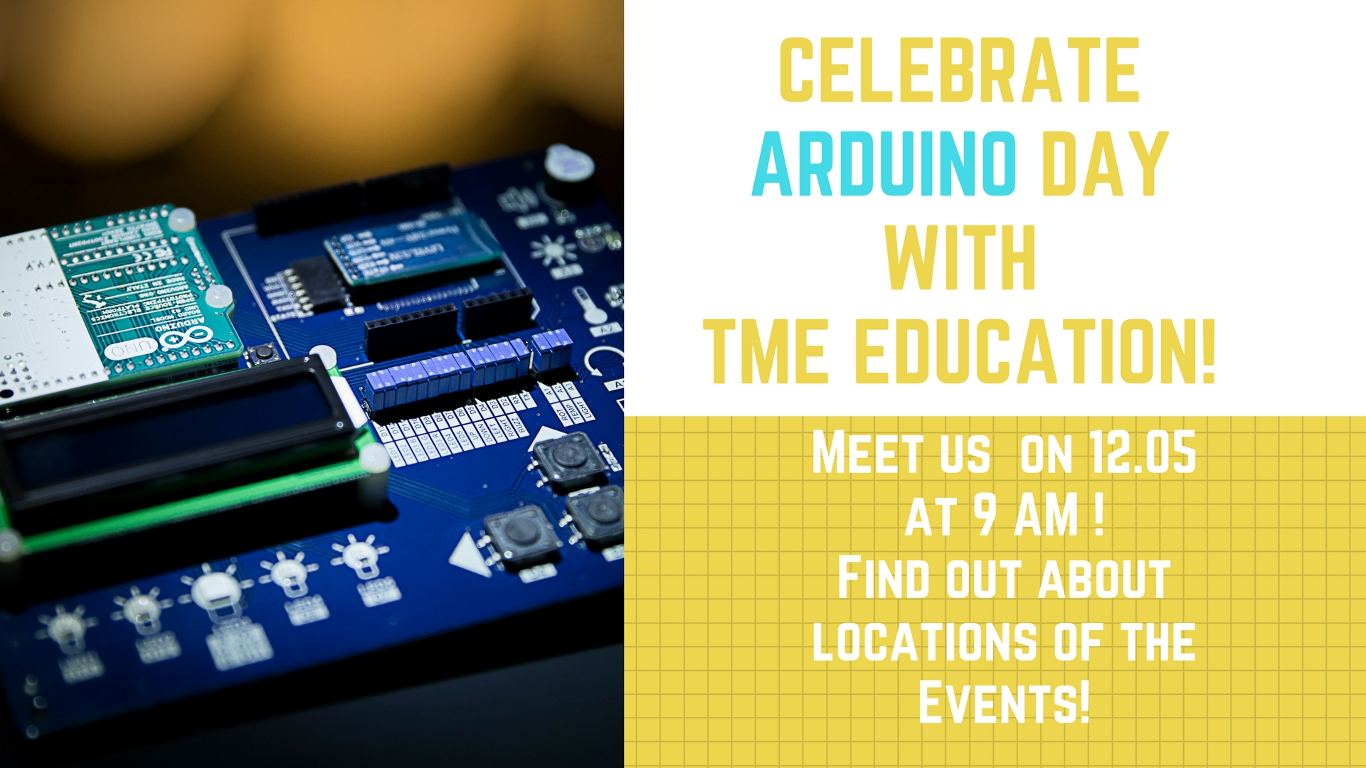 Celebrate Arduino Day with TME Education!
