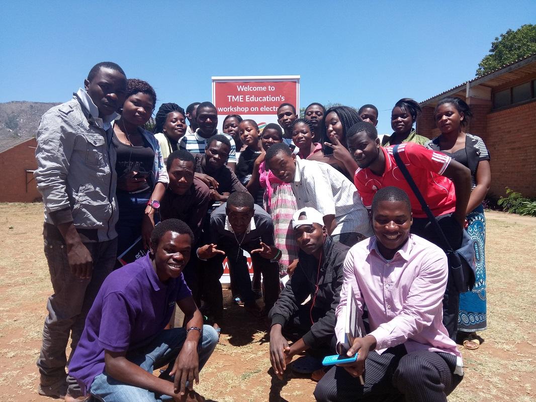 October training by TME Education Malawi.
