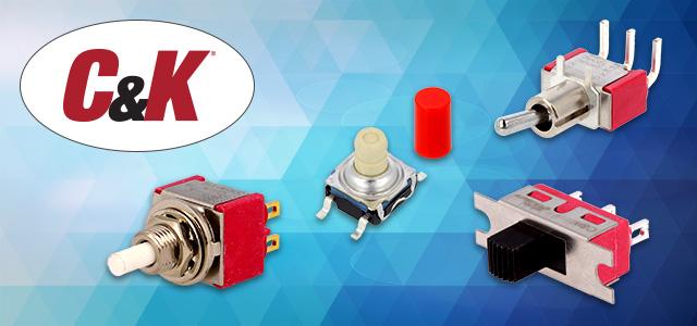 Nieuwe producten van C&K in het aanbod van TME