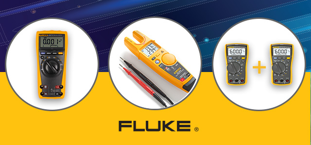 Promotional prices of Fluke metres!