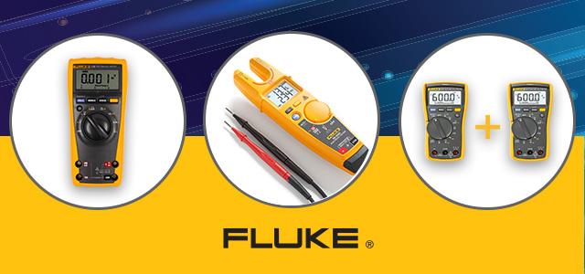 ¡Precios promocionales para medidores de la marca Fluke!