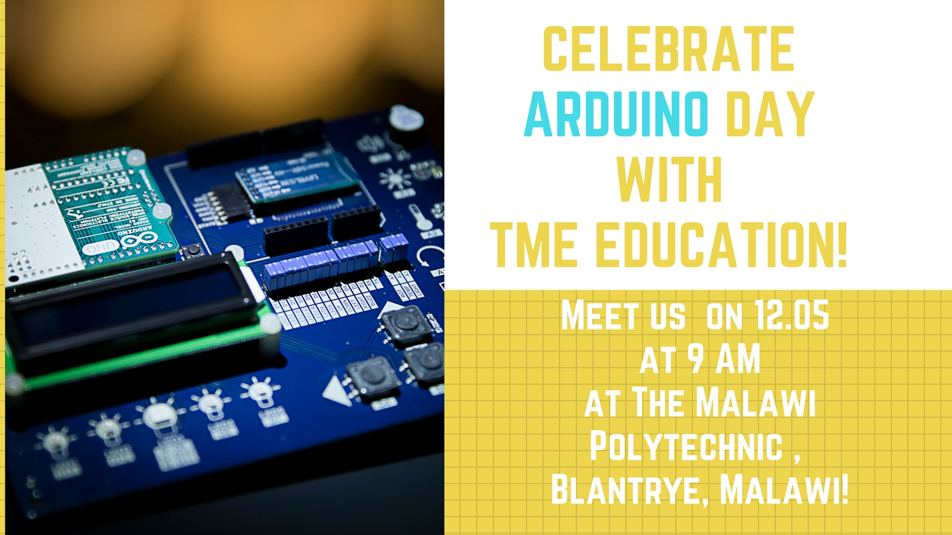 Arduino birthday! Let's celebrate it together in Malawi!
