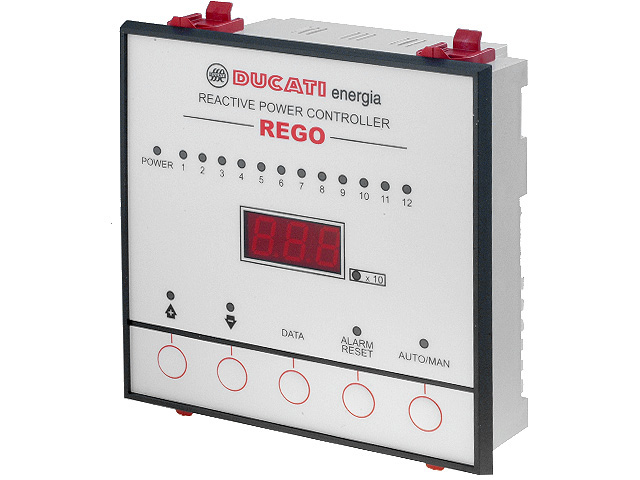 REGO12 controllers – automatic power factor correction   Electronic