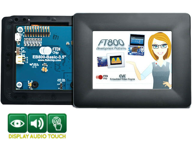FTDI FT800 EVE LCD Touch display controllers | Electronic components