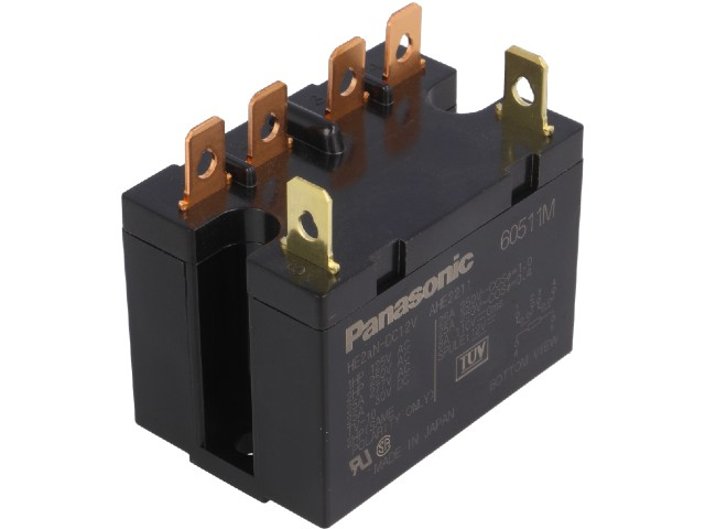 Panasonic plug-in power relays