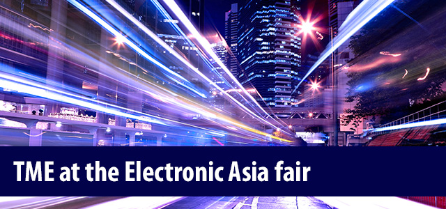 TME at the Electronic Asia fair