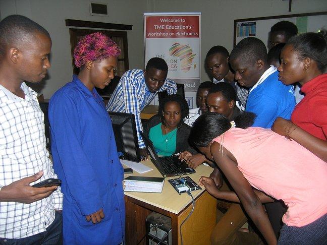 Arduino Day 2018 in Uganda