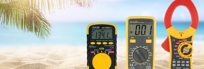¡Durante las vacaciones los productos de Axiomet hasta 15% más baratos!