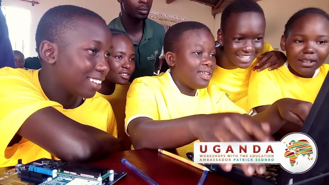 TME Education Lab at St. Elisabeth Girls' School in Mityana, Uganda.