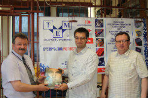 TME varustas kooli töökoja elektrooniliste elementidega