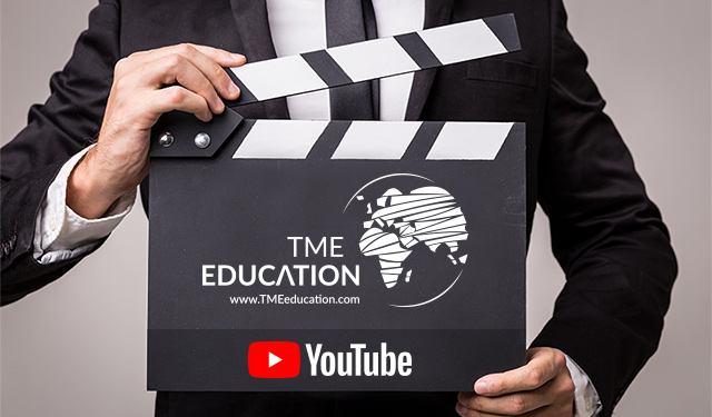 ¡Empieza el canal TME EDUCATION en YouTube!