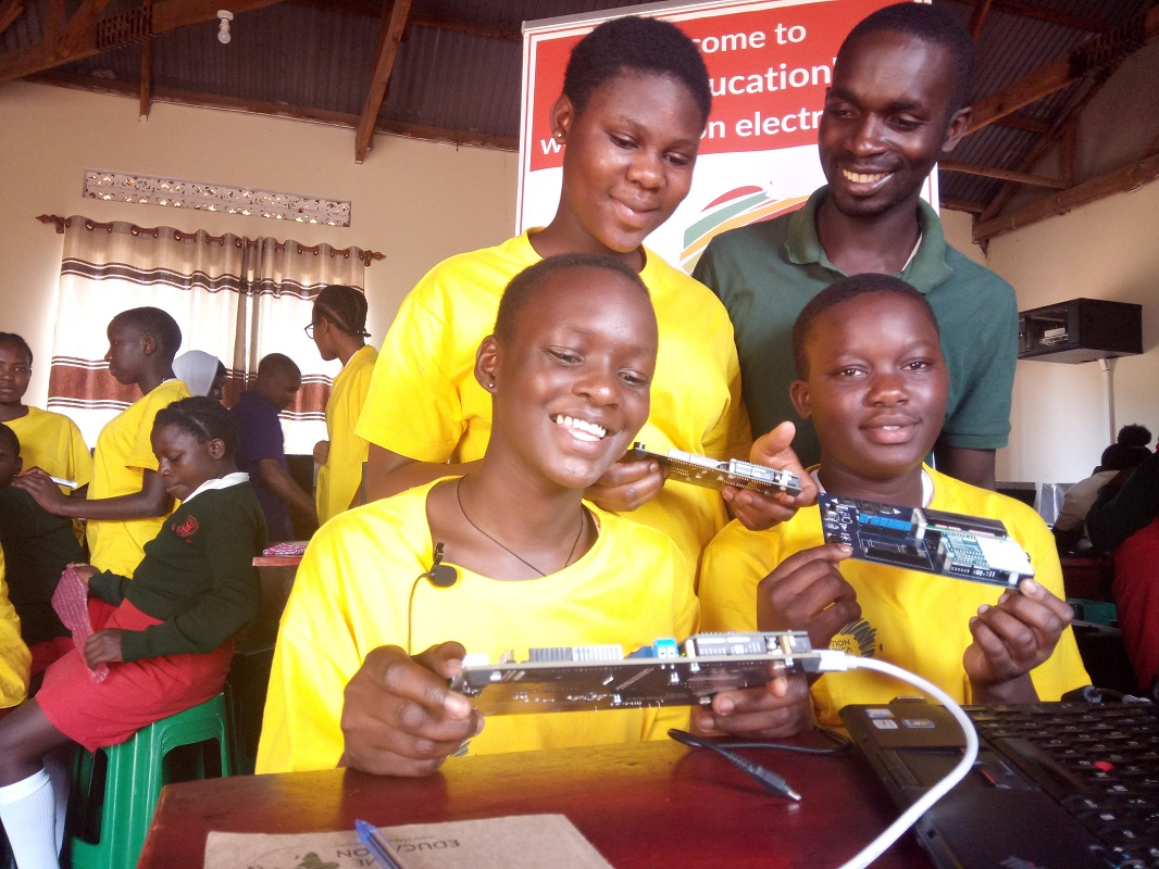 TME Education Lab at St. Elisabeth Girls' School in Mityana is now operational!