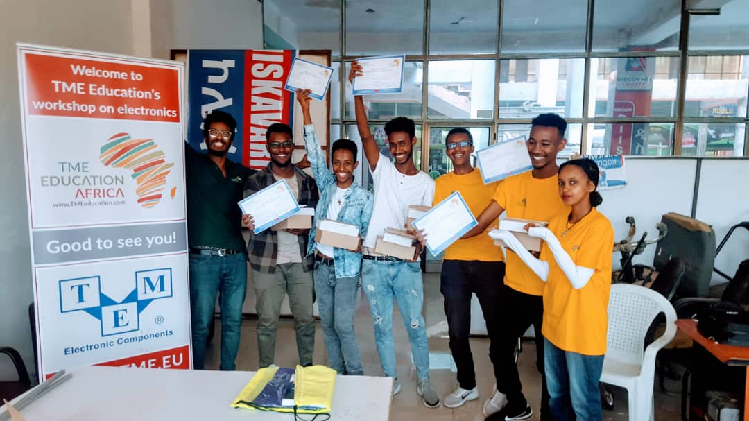 Weekend Hackathon by TME Education Ethiopia (Photo gallery)
