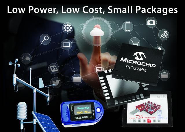 Nowe 32-bitowe mikrokontrolery serii PIC32MM Microchip