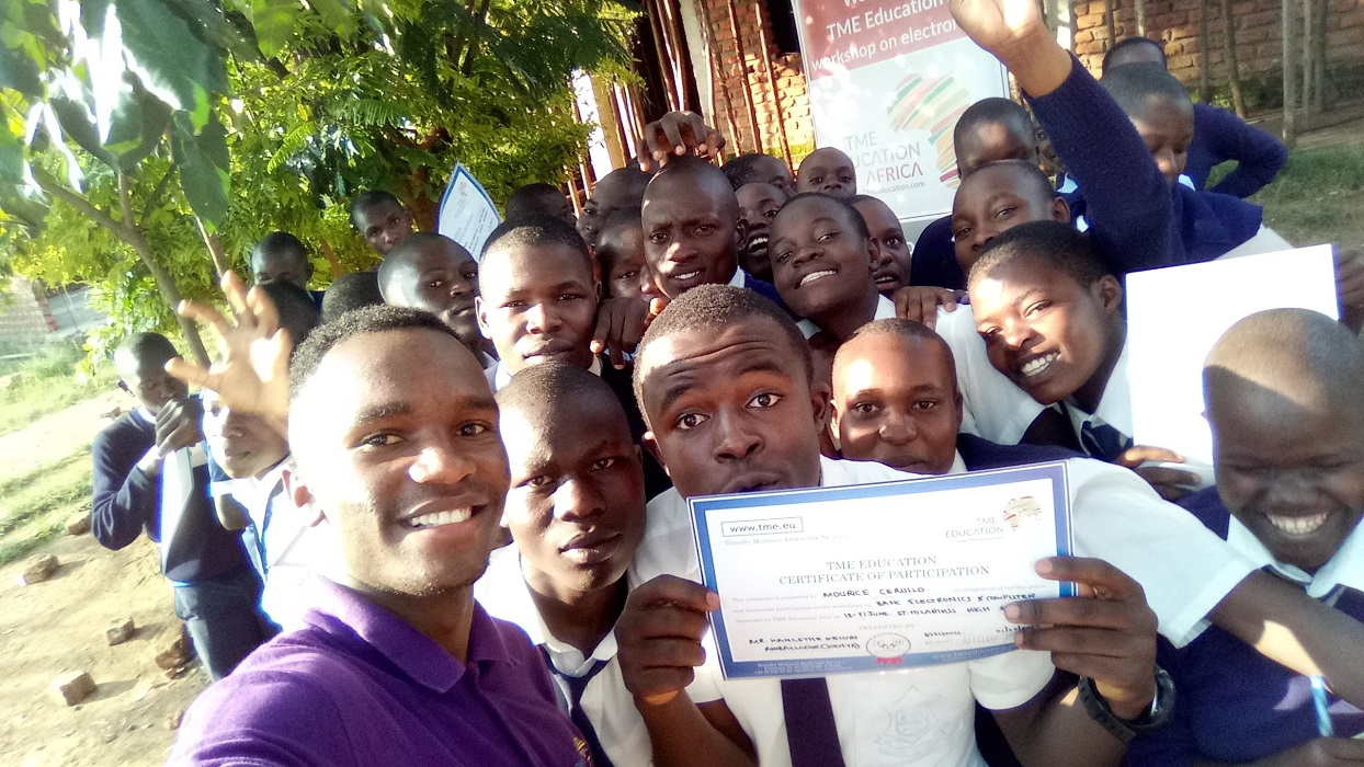 TME Education Kenya training in Kisumu County.