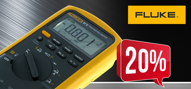 FLUKE FLK-87V digital multimeter up to 20% off! | Electronic