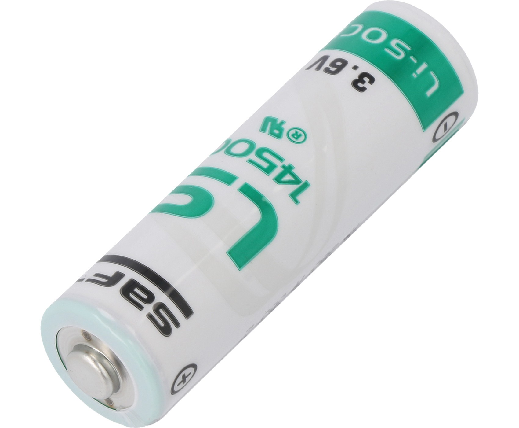 LS 14500 SAFT lithium cell