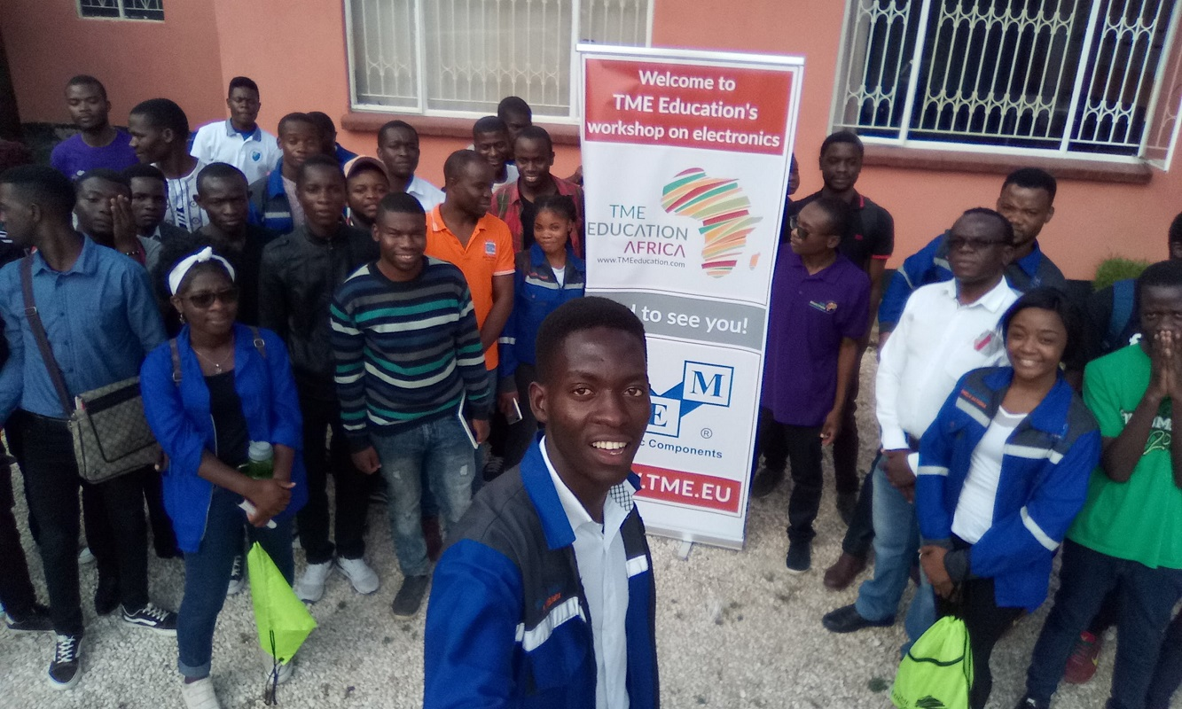 Arduino Day 2019 with TME Education Zambia.