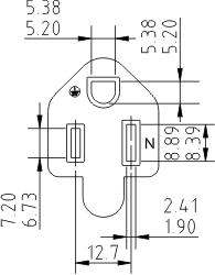 NEMA_5-15_(B)_socket