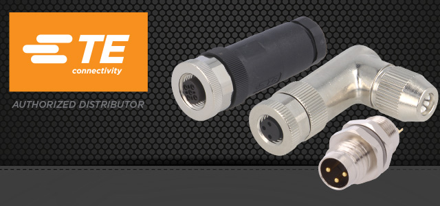M8/M12 connectors from TE Connectivity – reliable industrial communication