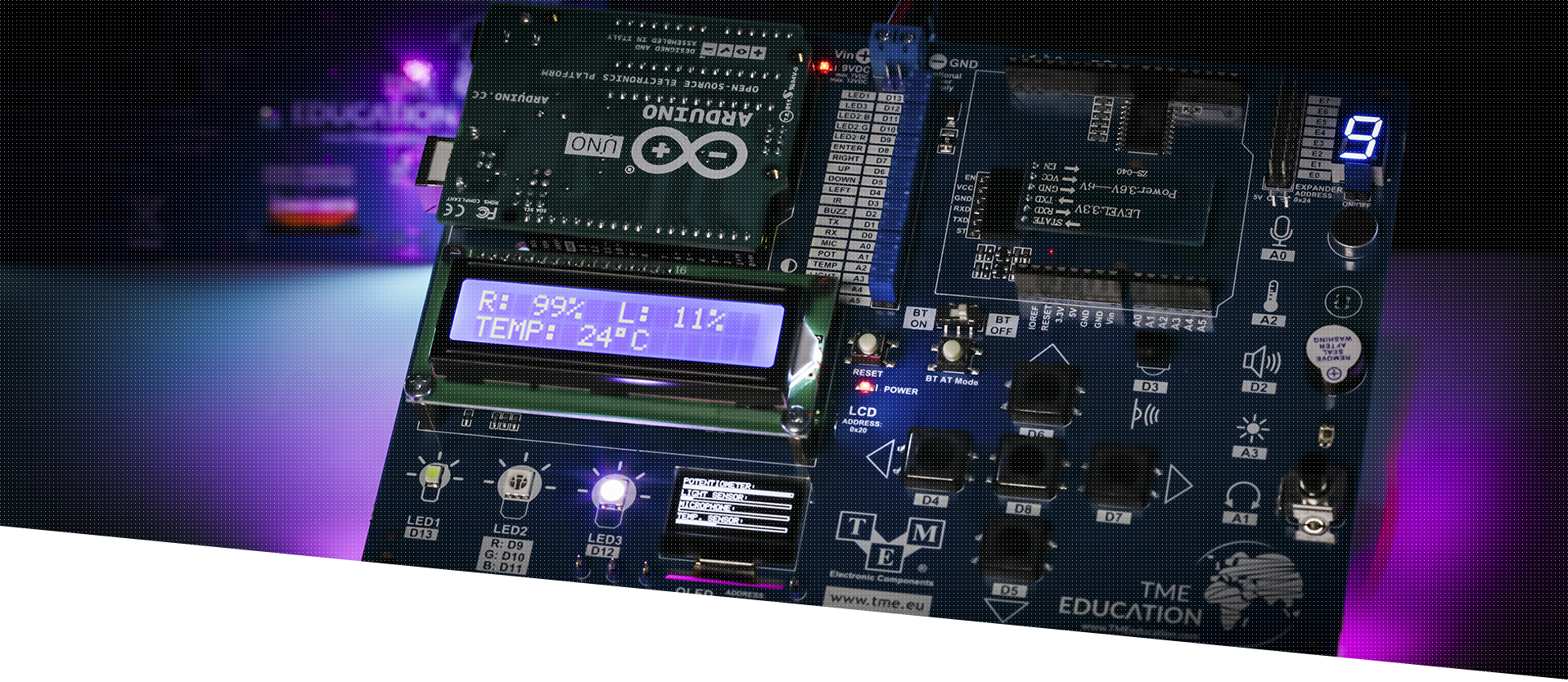 New Arduino-based TME Edu Kit has just arrived! <br> Learn more about it!