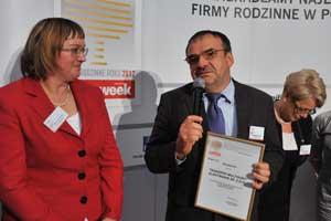 TME laureatem Rankingu Firm Rodzinnych Roku 2012!