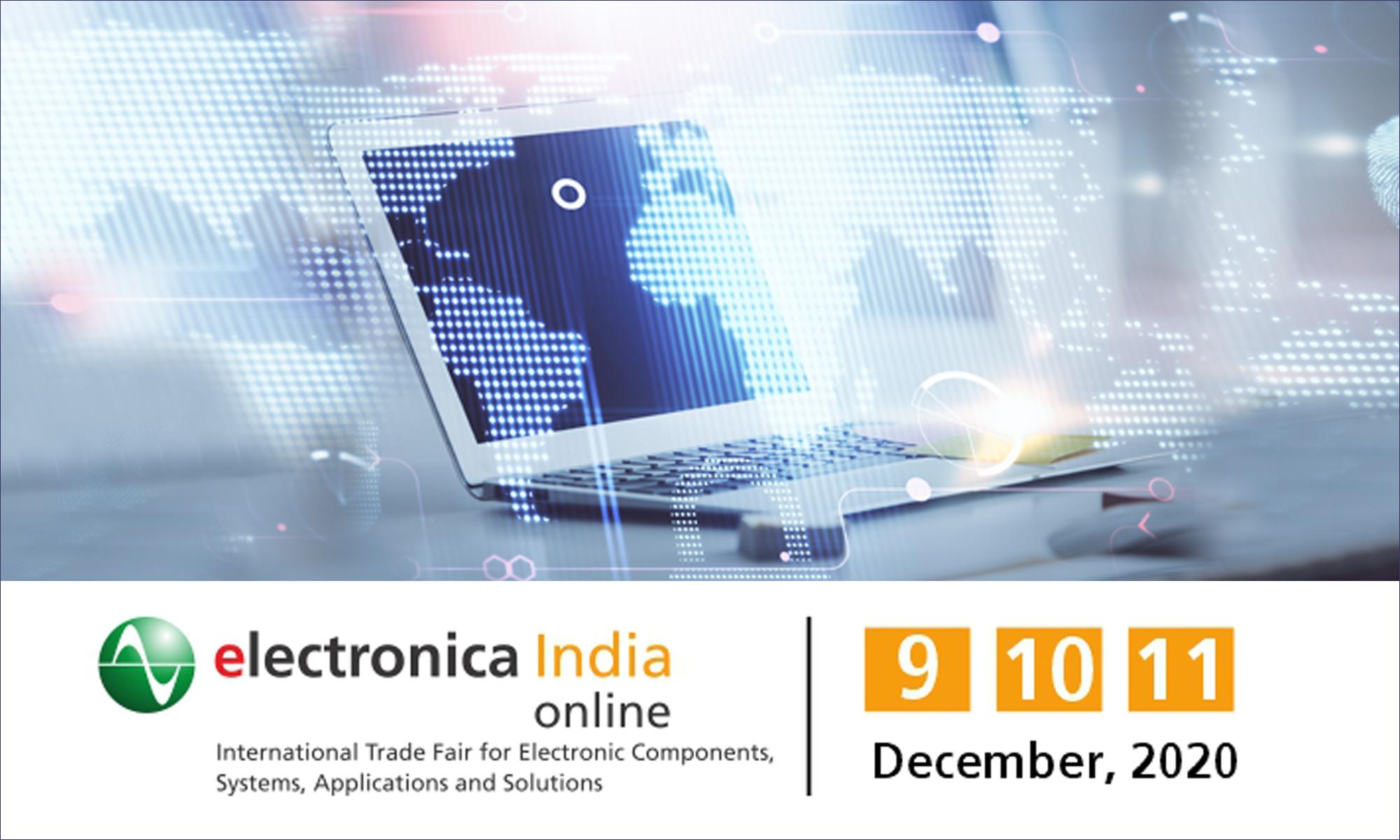 Contatta la TME durante la fiera Electronica India 2020