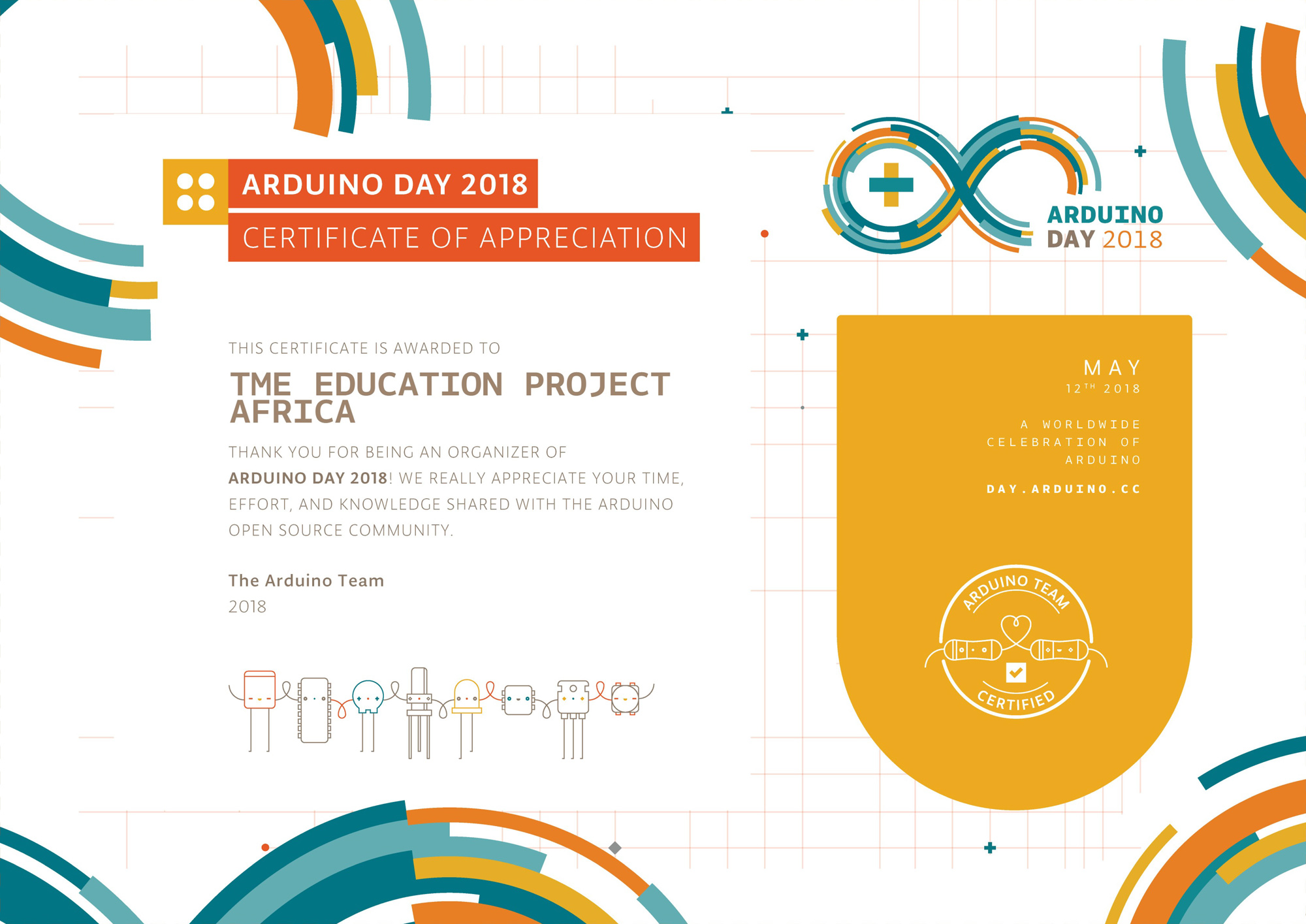 Arduino Day 2018 celebrations in Uganda!
