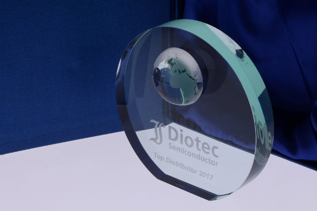 TME awarded by Diotec Semiconductor