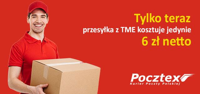 Skorzystaj z tańszej dostawy z Pocztex Kurier 48