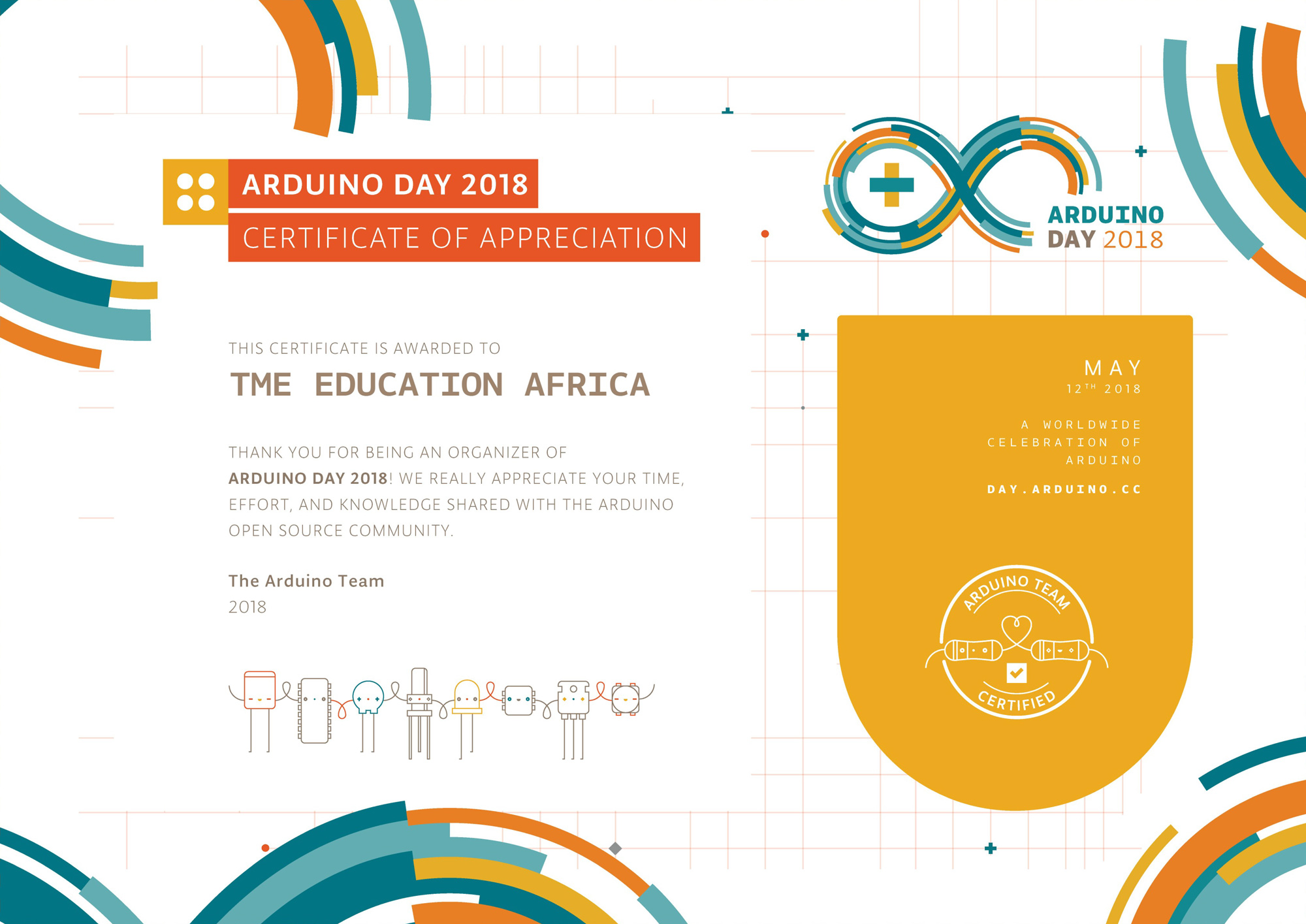 Arduino Day 2018 in Malawi with TME Education
