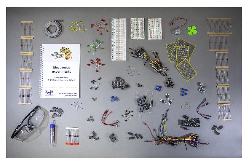 TME's Electronics Experiments Kit vol. 1