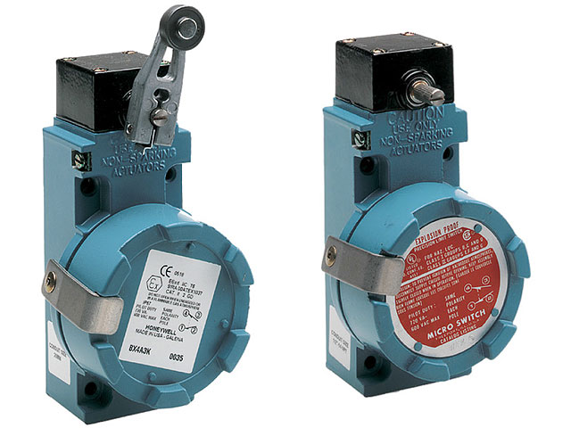 BX Series- explosion-proof limit switches - Honeywell