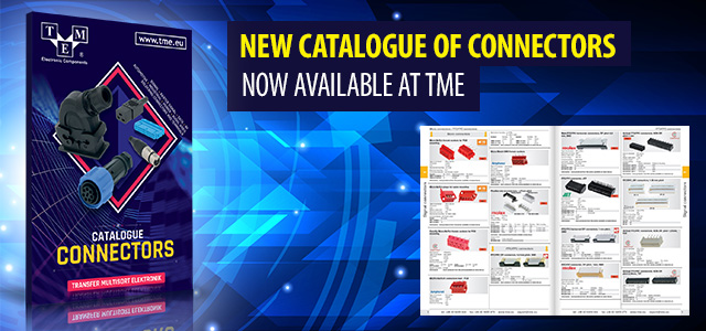New catalogue of connectors now available at TME