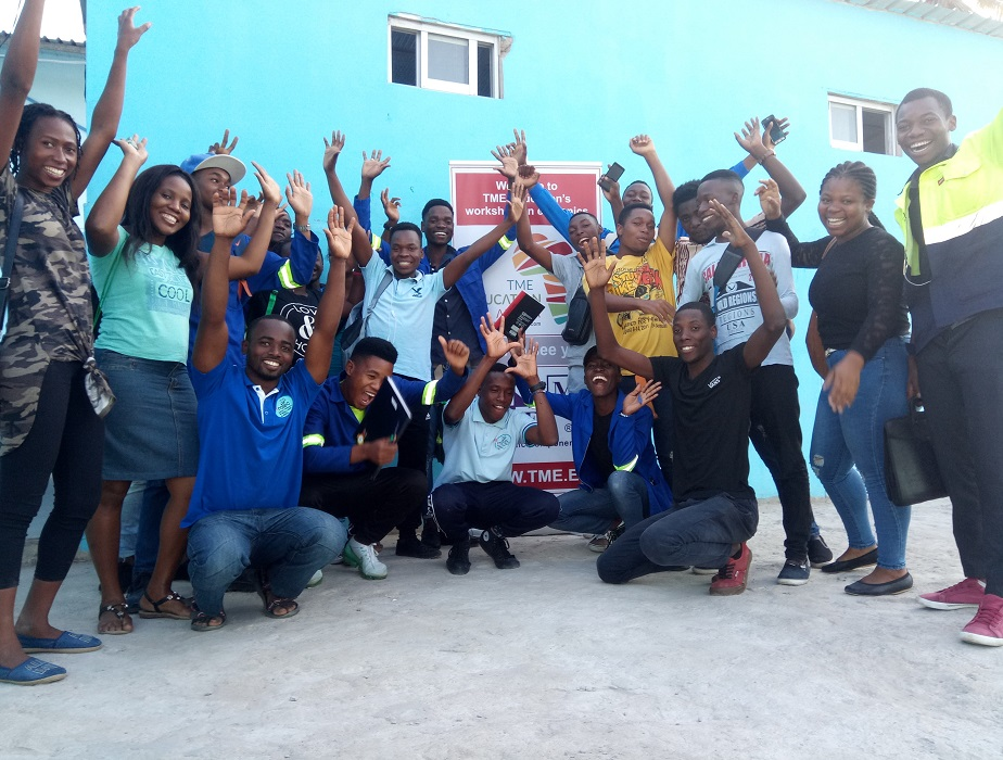 TME Education Mozambique training at INATEC and IICM.