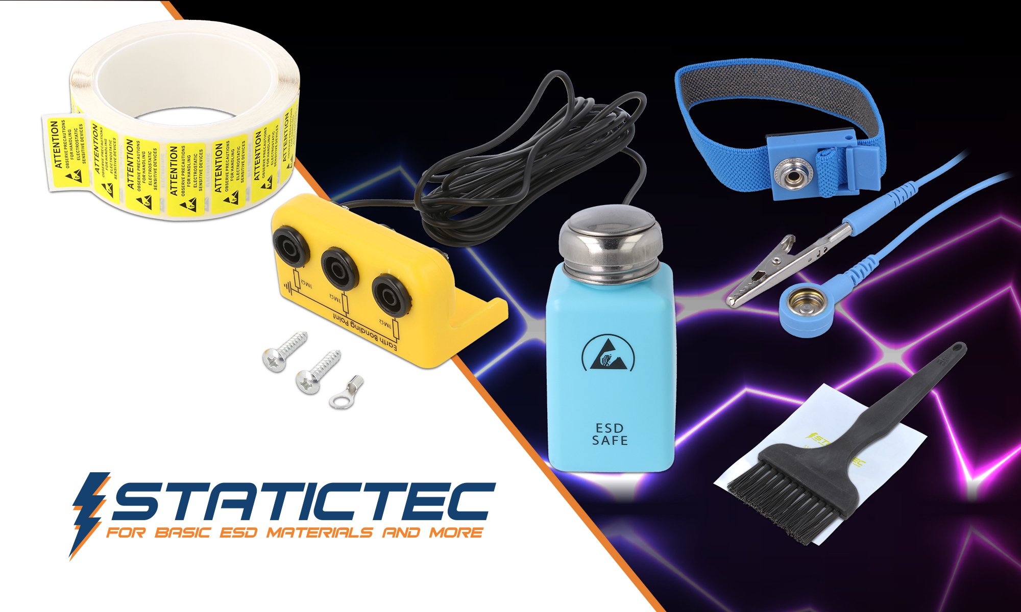 Products by STATICTEC now available at TME