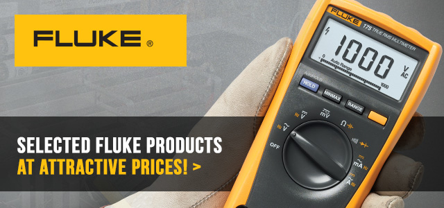 Selected Fluke products at attractive prices! | Electronic