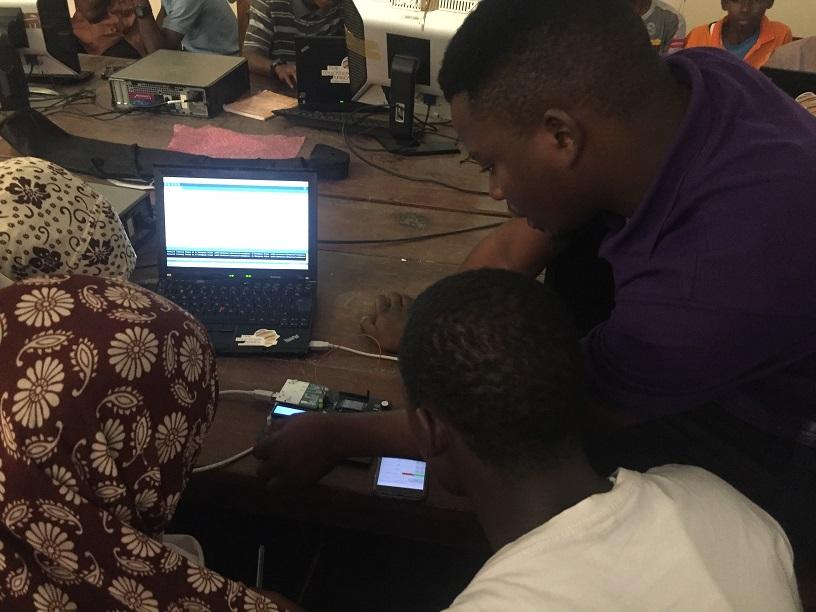 TME Education training in Zanzibar