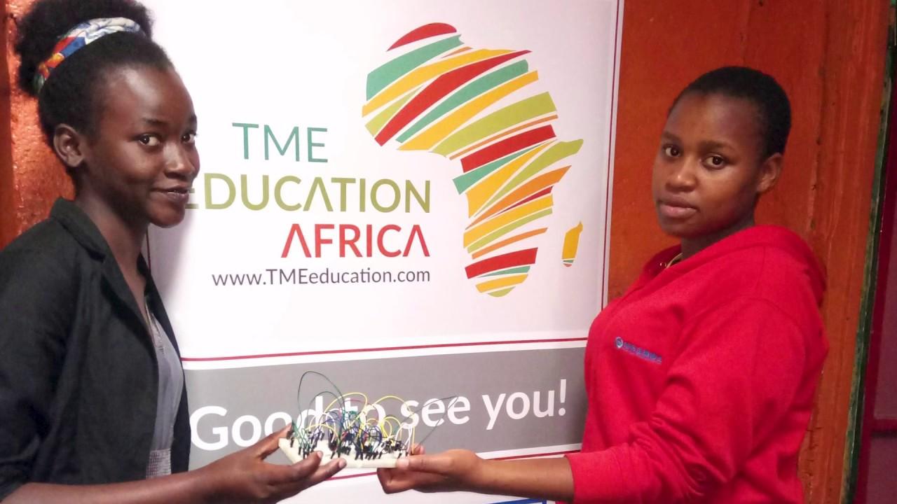 TME Education Training at National Hidden Talents Academy, Kenya.