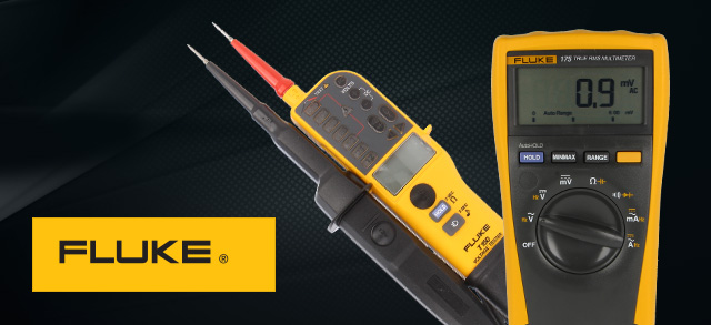 Precise measurements with FLUKE testers and multimeters