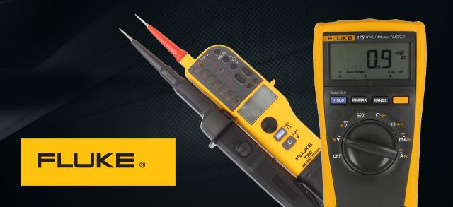 Măsurători de precizie cu testere şi multimetre FLUKE