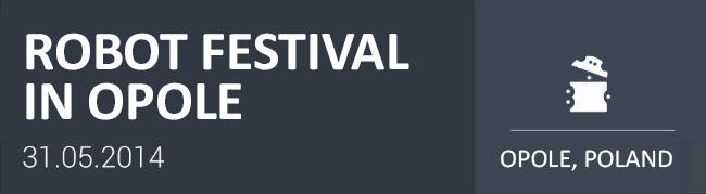 TME sponsorem Opolskiego Festiwalu Robotów