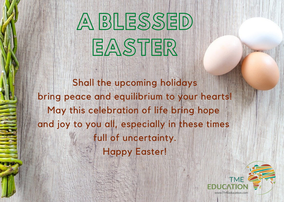 Happy Easter from TME Education!