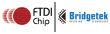 logo bridgetek-ftdi