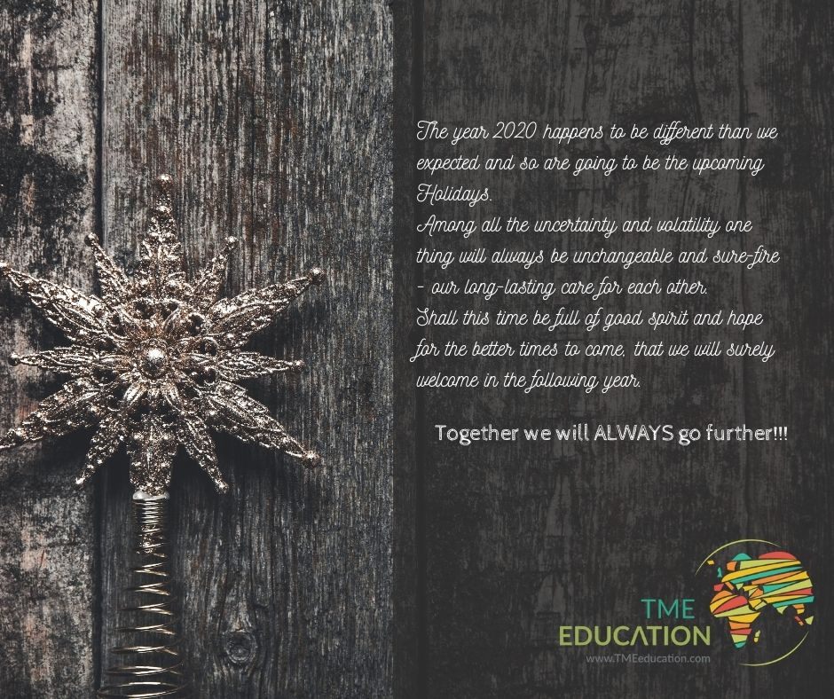 Happy Holidays from TME Education!